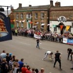 Stilton Cheese Rolling Competition