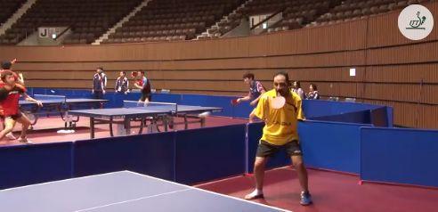 Armless Ping Pong