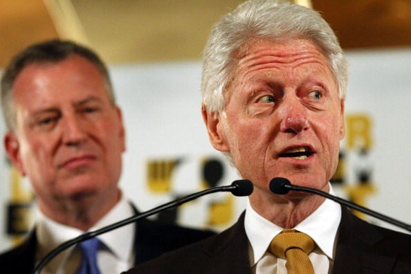 Mayor De Blasio And Bill Clinton Announce Harlem EatUp! Festival