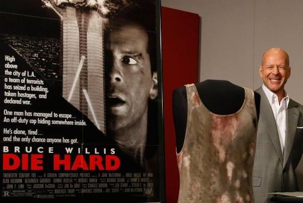 """Bruce Willis Donates """"Die Hard"""" Memorabilia"""