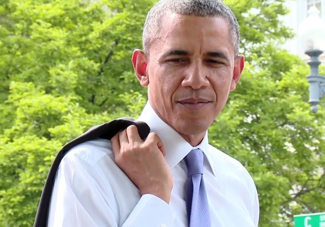 Obama Walk