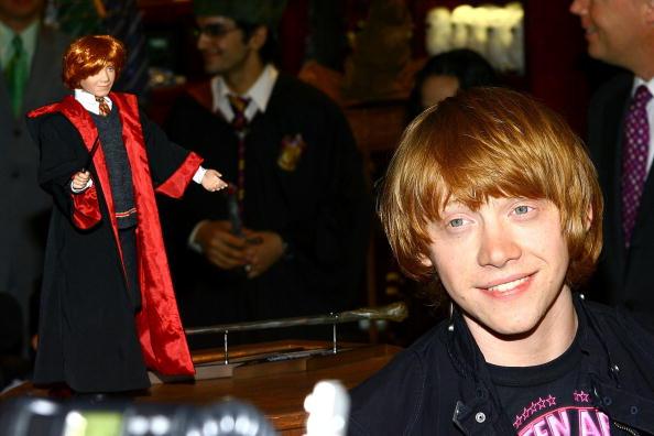 """Rupert Grint Opens """"Harry Potter Store"""" At FAO Schwarz"""