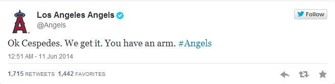 Angels Twitter