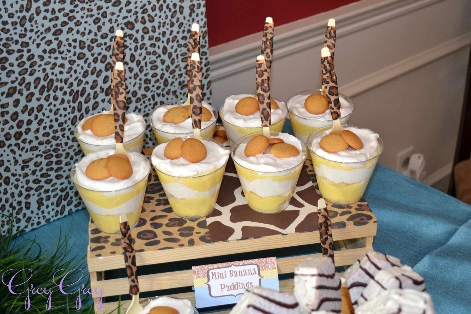 Cheetah Spoons