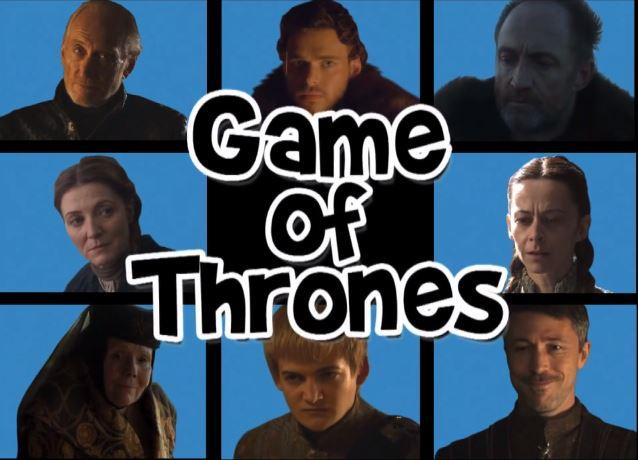 Game of Thrones Brady bunch