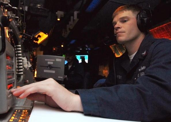 U.S. Navy Ballistic Missile Defense Drill