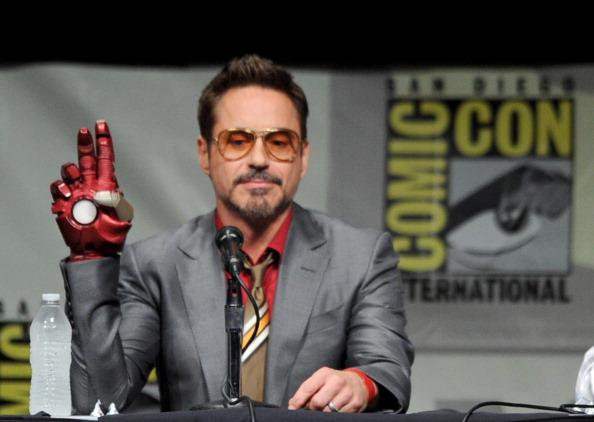 "Marvel Studios ""Iron Man 3"" Panel - Comic-Con International 2012"