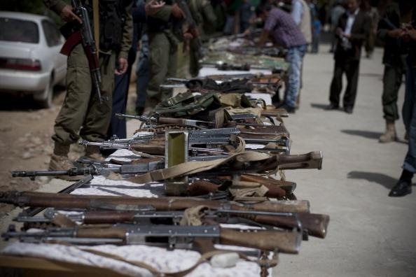 Taliban Militants Surrender In Badakhshan