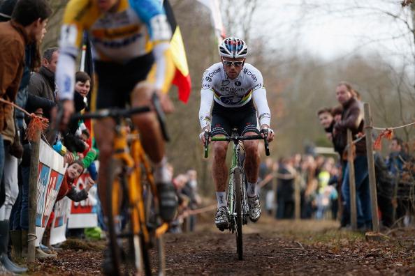 World Champion Sven Nys at Leuven Cyclocross