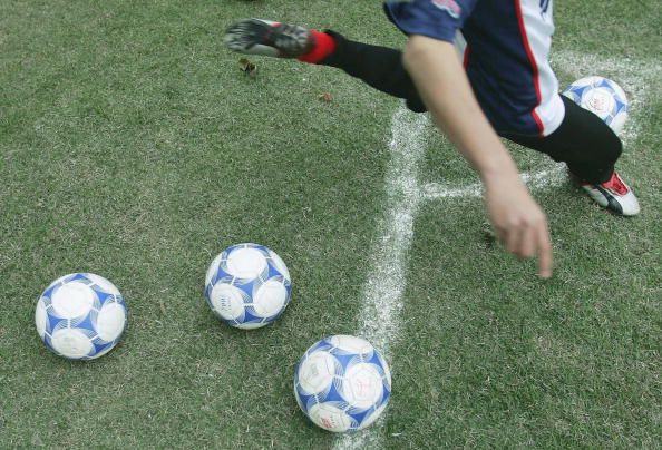 China Grooms Young Soccer Players For 2008 Olympics
