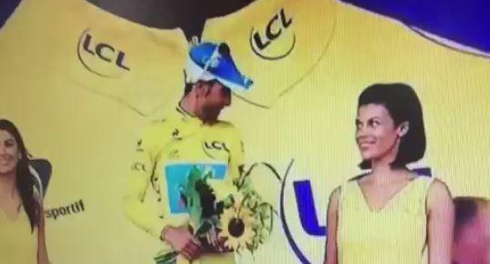 Tour De France Kiss