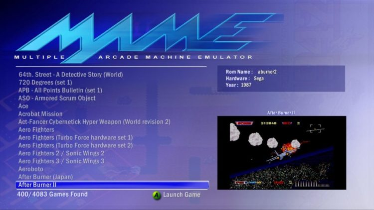 how to play mame games