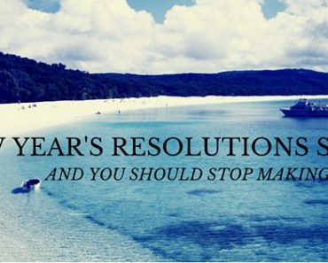 The Only New Year's Resolutions I Will Approve Of