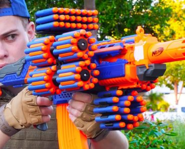Who Knew Fictional Nerf Battles Could Make Millions?